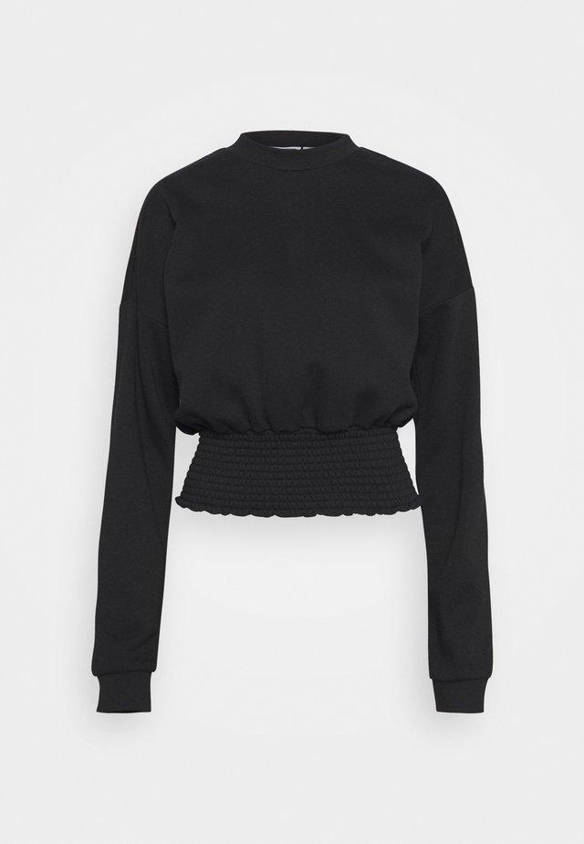 NMMILY SMOCK - Sweatshirt - black