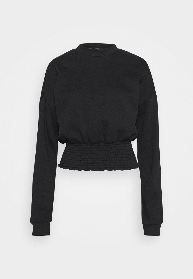 Noisy May Tall - NMMILY SMOCK - Sweatshirt - black