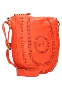Campomaggi - Across body bag - orange - 3