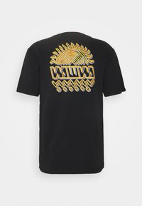WAWWA - UNISEX SUNSPOTS - Print T-shirt - black