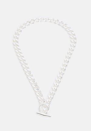 THICK BAR CHAIN UNISEX - Necklace - silver-coloured