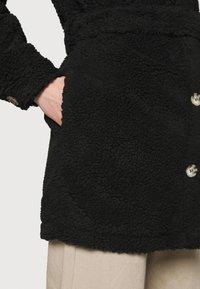 JDY - JDYSTELLA BELT JACKET - Klasický kabát - black - 6