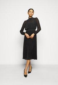 Tory Burch - DEVORE DRESS - Cocktail dress / Party dress - black - 0