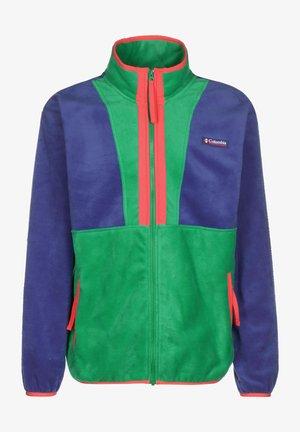 BACK BOWL FULL ZIP  - Fleece jacket - lapis blue/ eme