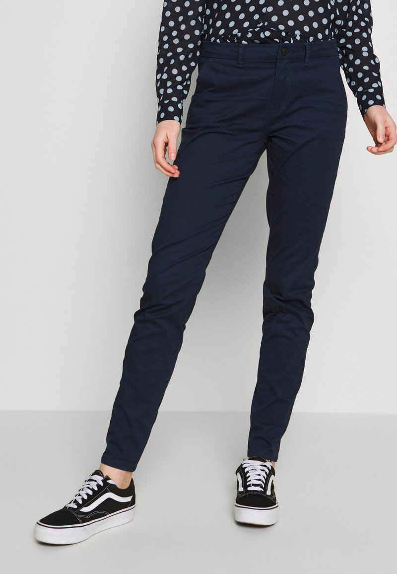 ONLY - ONLPARIS PANTS - Chinos - navy blazer