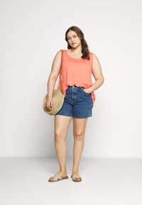Levi's® Plus - 501® ORIGINAL SHORT - Denim shorts - charleston erosion - 1