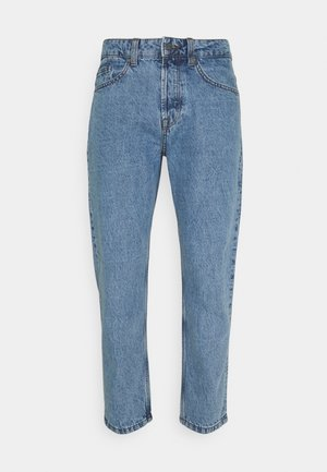 ONSAVI BEAM LIFE CROP - Straight leg jeans - blue denim