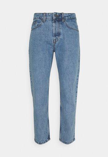 ONSAVI BEAM LIFE CROP - Jeans straight leg - blue denim