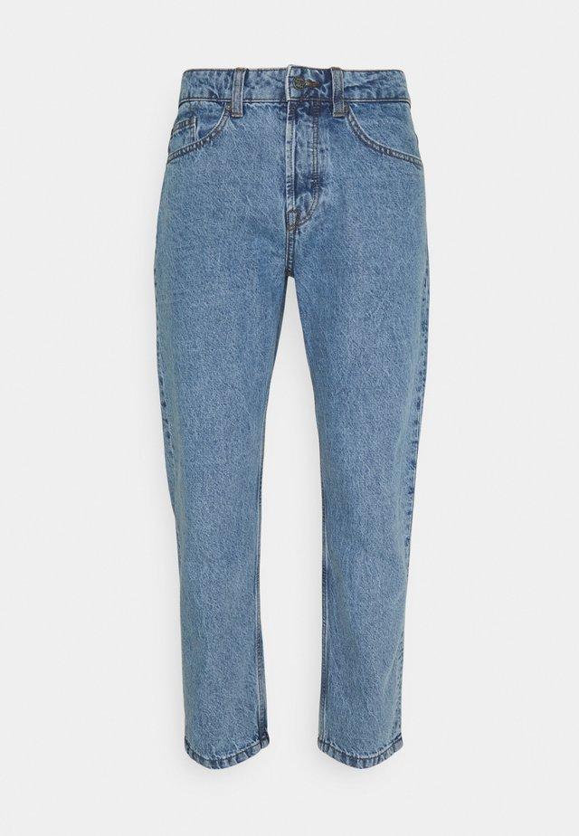 ONSAVI BEAM LIFE CROP - Jeans a sigaretta - blue denim