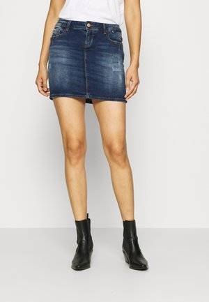 ADREA - Denim skirt - lorea wash