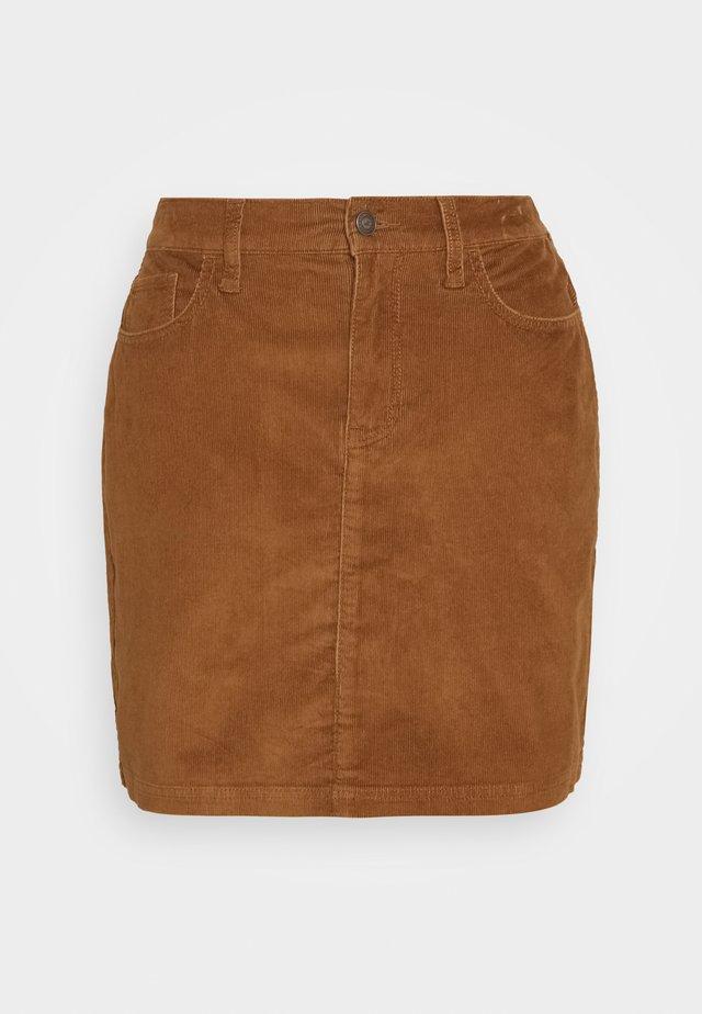 Mini skirt - mocha