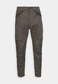 ZIP 3D CARGO - Cargo trousers - battle grey