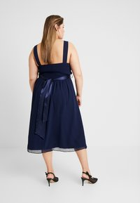 Dorothy Perkins Curve - BETHANY DRESS - Cocktail dress / Party dress - navy - 3