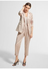 comma - Trousers - beige - 3
