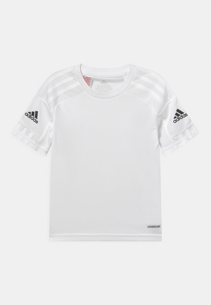 adidas Performance - SQUAD UNISEX - Triko spotiskem - white/black
