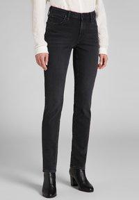 Lee - ELLY - Slim fit jeans - black ellis - 0