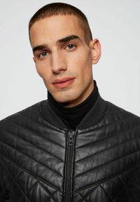 BOSS - JECEY - Leather jacket - black - 3