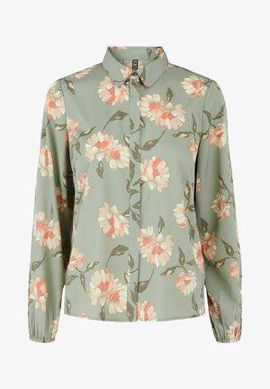 Button-down blouse - shadow