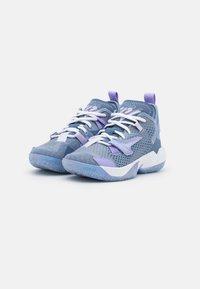 Jordan - WHY NOT ZER0.4 BG UNISEX - Basketball shoes - indigo fog/purple pulse/violet frost - 1
