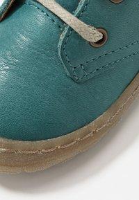 Froddo - KART LACES SLIM FIT - Sznurowane obuwie sportowe - petroleum - 2