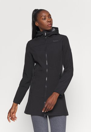 ALERIE - Softshelljacke - black