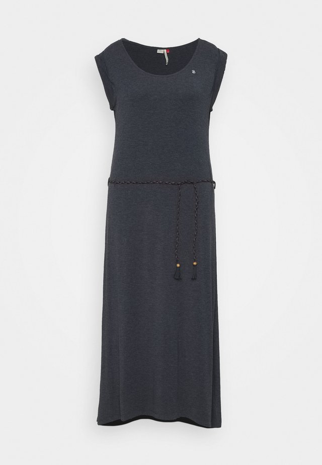 TAG LONG - Maxi-jurk - navy