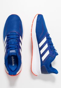 adidas Performance - RUNFALCON - Zapatillas de running neutras - collegiate royal /cloud white /active orange - 1