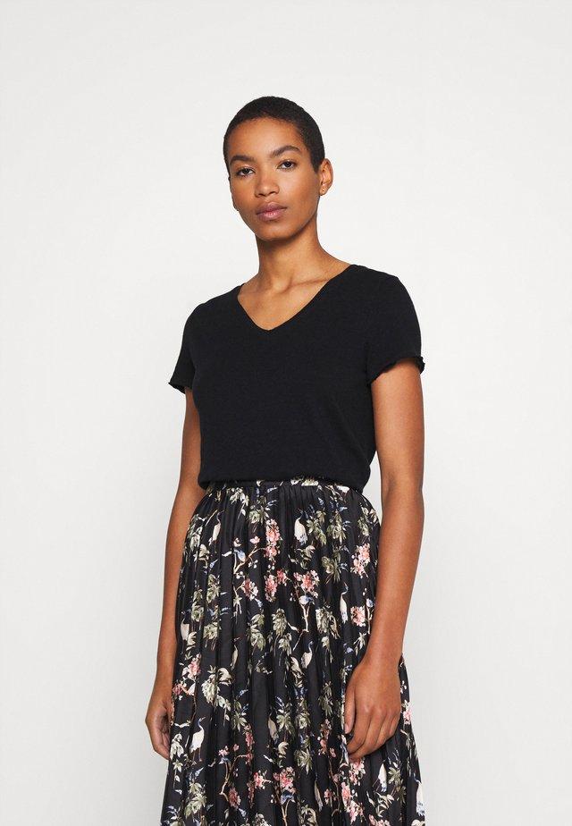 SONOMA - T-shirt basique - noir
