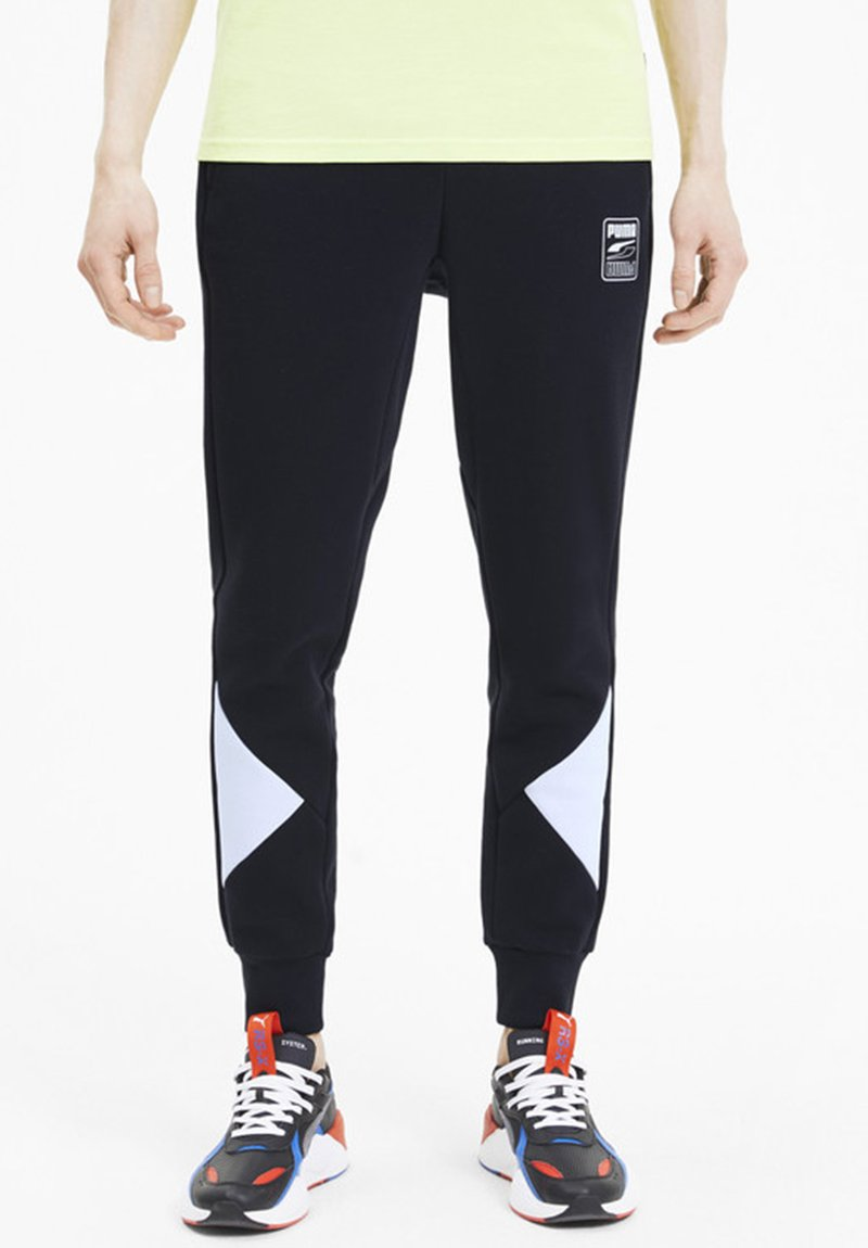 Puma - REBEL - Trainingsbroek - black