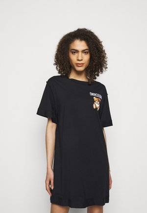 DRESS - Jersey dress - fantasy black