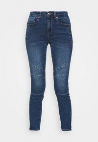 ONLROYAL LIFE  - Skinny džíny - dark blue denim