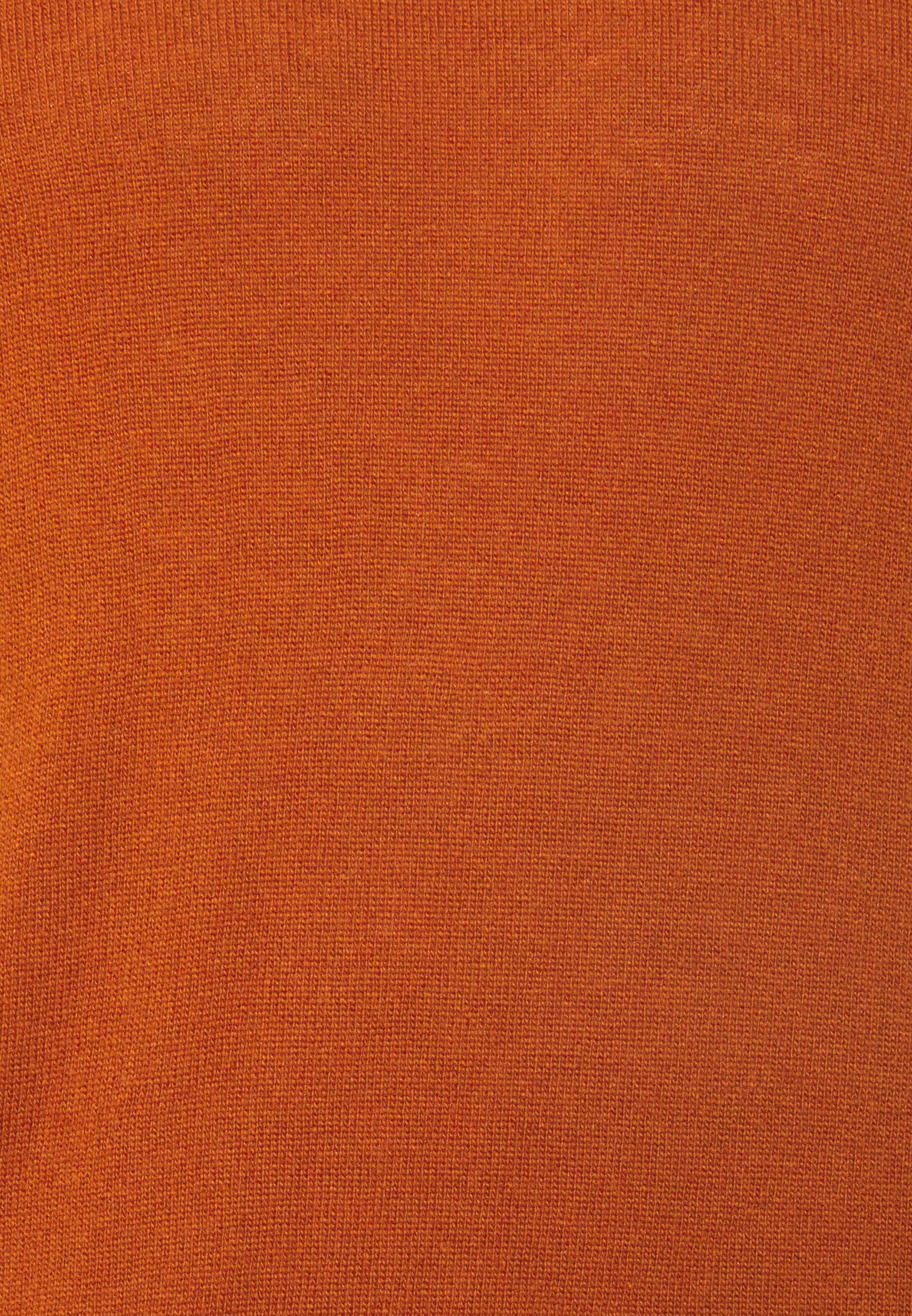 Benetton Basic Crewneck - Strikkegenser Brown/mørkebrun