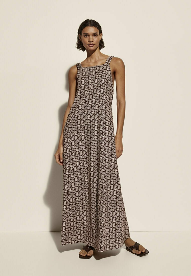 Massimo Dutti - Maxi dress - brown