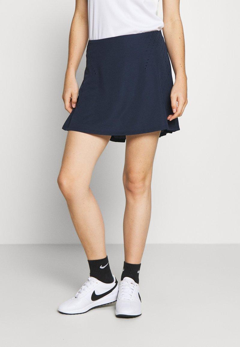 Nike Golf - DRY ACE SKIRT - Sportovní sukně - obsidian