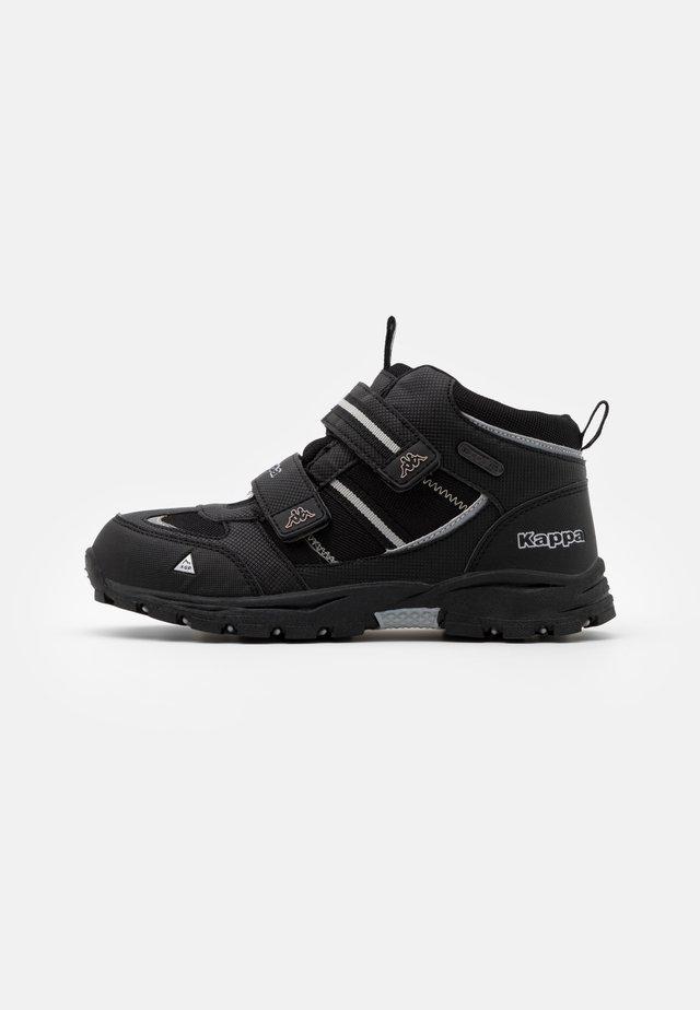 HOVET TEX UNISEX - Hiking shoes - black/silver