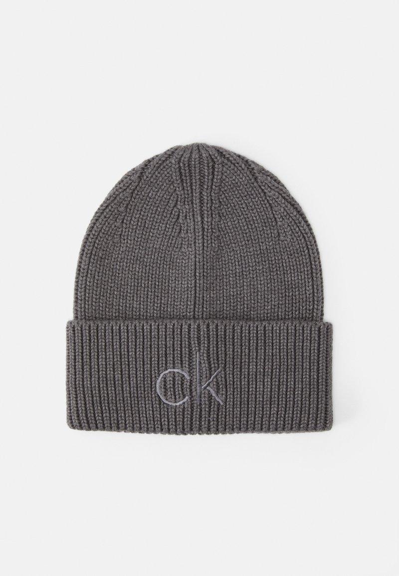 Calvin Klein - BEANIE - Beanie - grey
