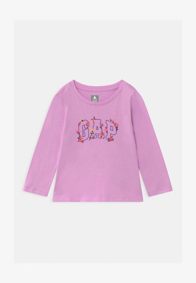 TODDLER GIRL LOGO  - Maglietta a manica lunga - purple rose