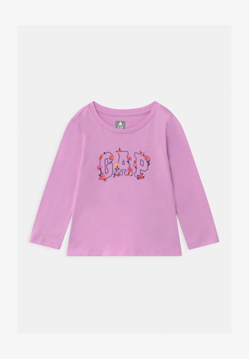 GAP - TODDLER GIRL LOGO  - Top s dlouhým rukávem - purple rose
