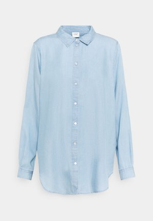 JDYOLIVIA LIFE - Skjortebluser - light blue denim