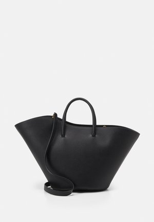 OPEN TULIP MEDIUM - Handbag - black