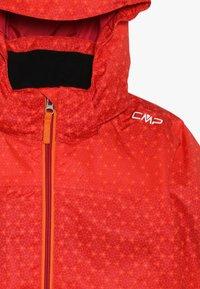 CMP - GIRL SNAPS HOOD - Ski jacket - bitter-granita-orange - 5