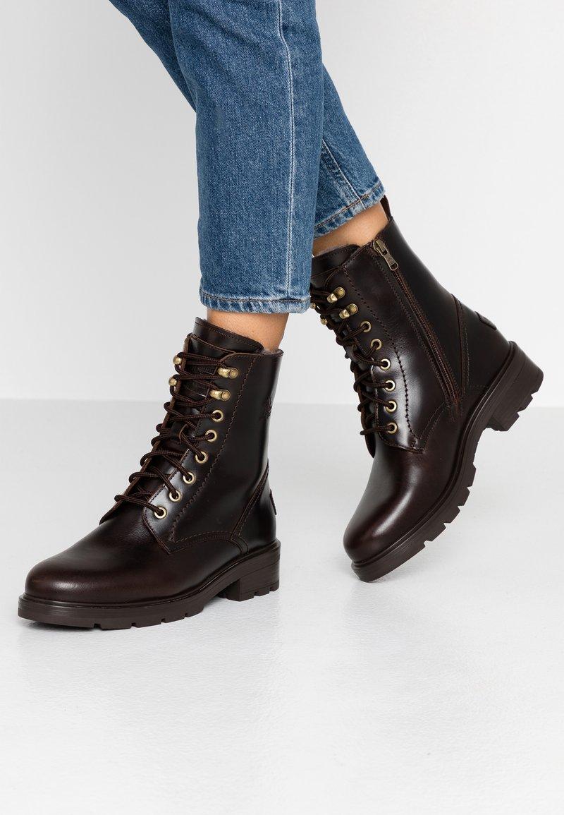 Panama Jack - LILIAN IGLOO - Lace-up ankle boots - marron/brown