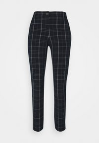 mine to five TOM TAILOR - PANTS COMFORT - Trousers - navy/deep green - 0