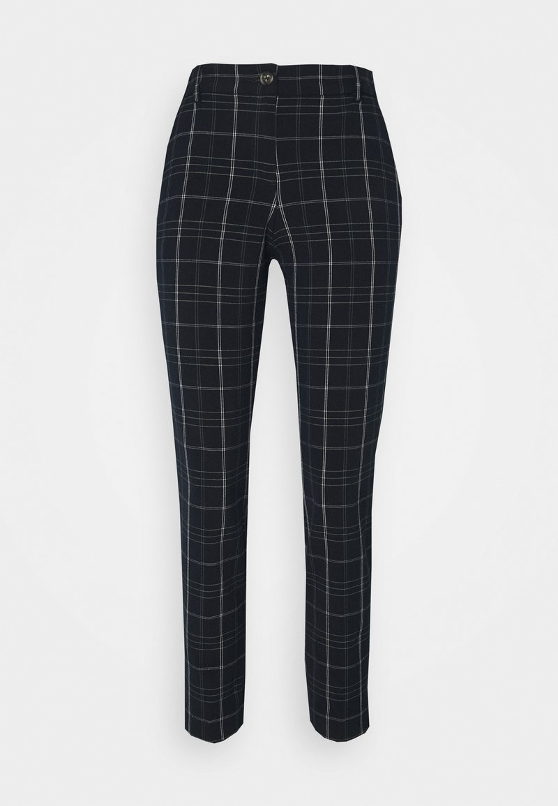 mine to five TOM TAILOR - PANTS COMFORT - Trousers - navy/deep green