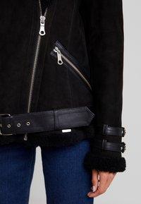 Maze - JEAN - Leather jacket - black - 6