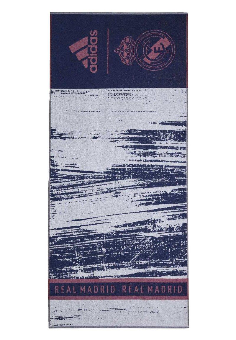 adidas Performance - REAL MADRID COTTON TOWEL - Håndkle - blue