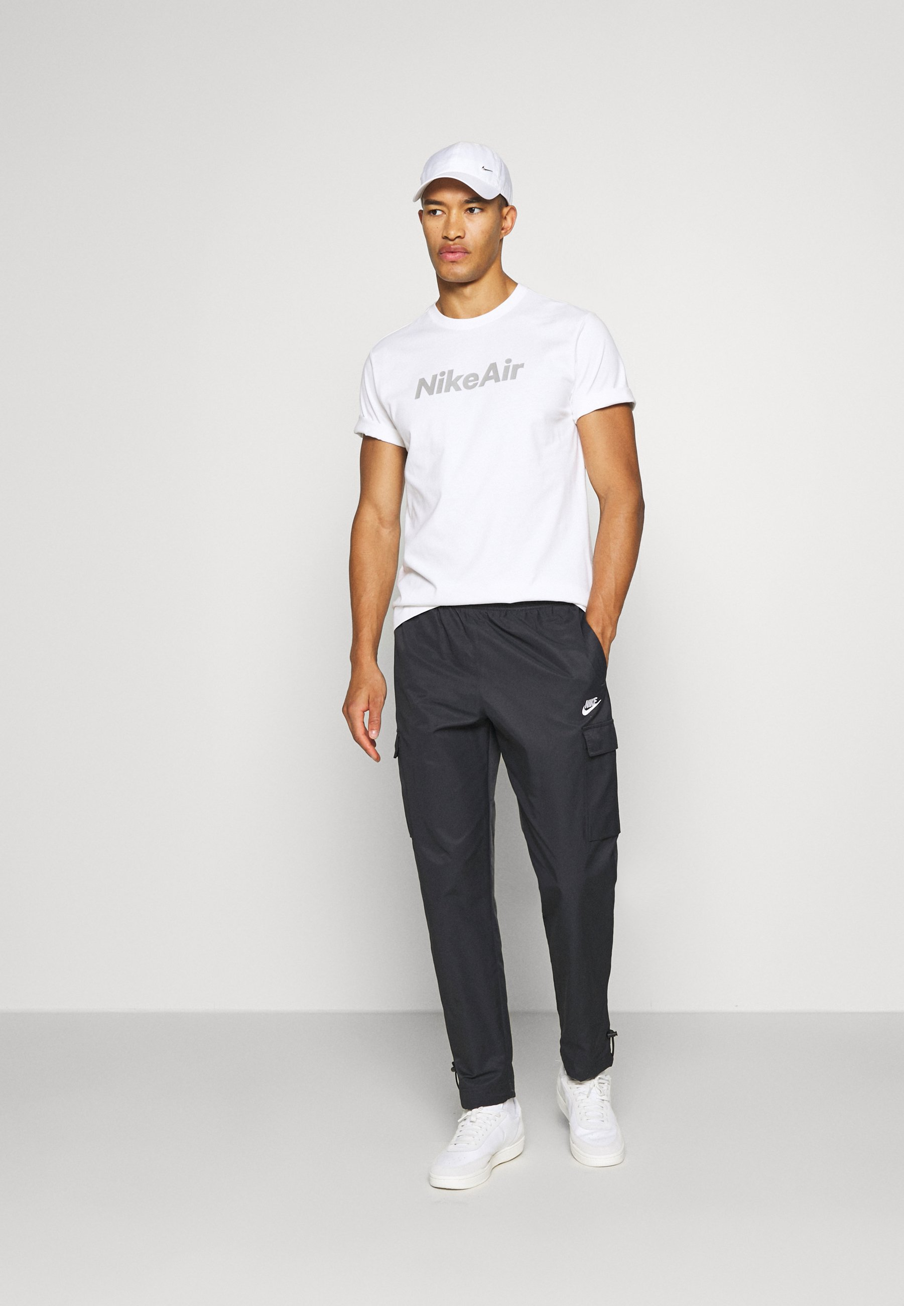Nike Sportswear Joggebukse - Black/white/svart