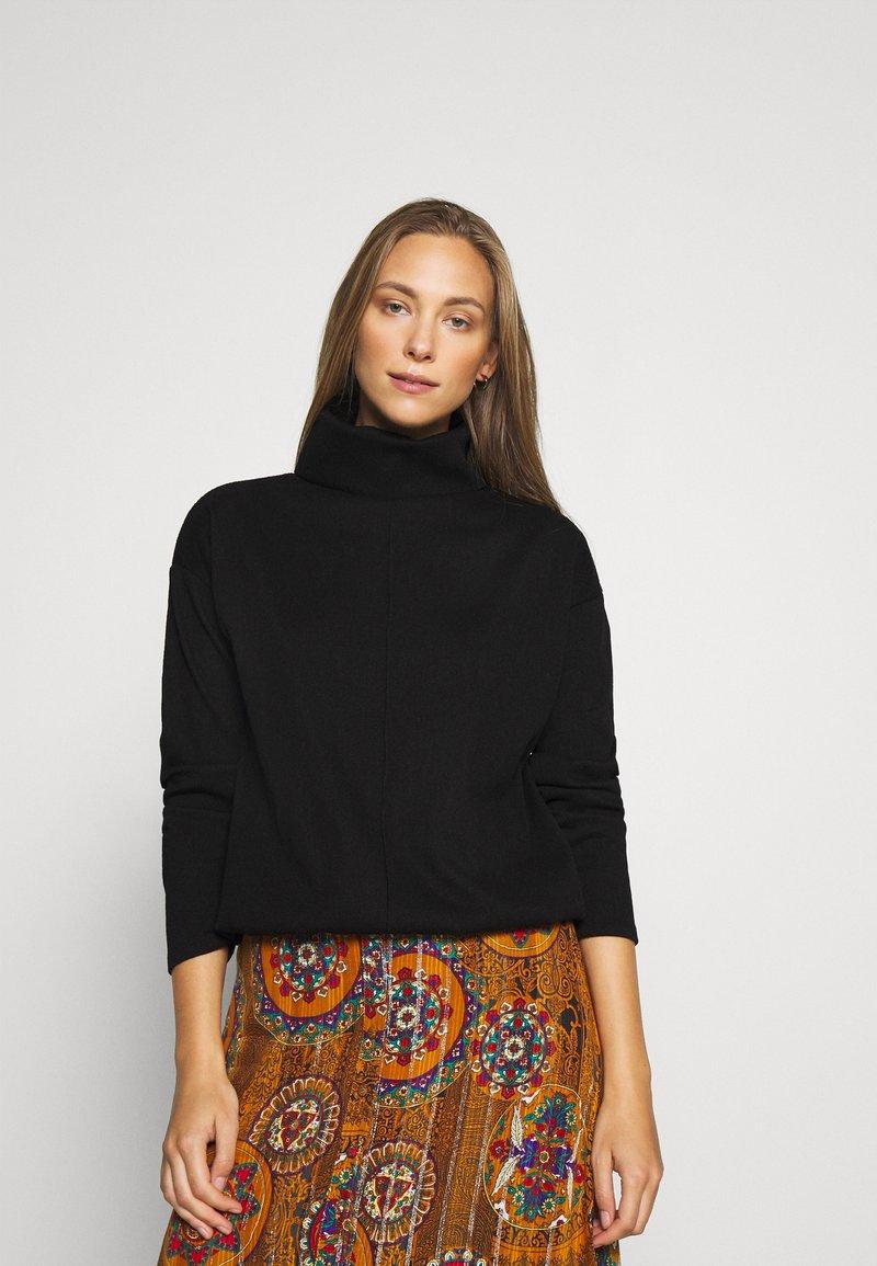 Opus - GLISE - Sweatshirt - black