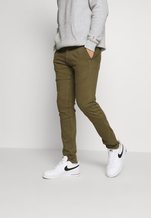 YORK - Trousers - army green