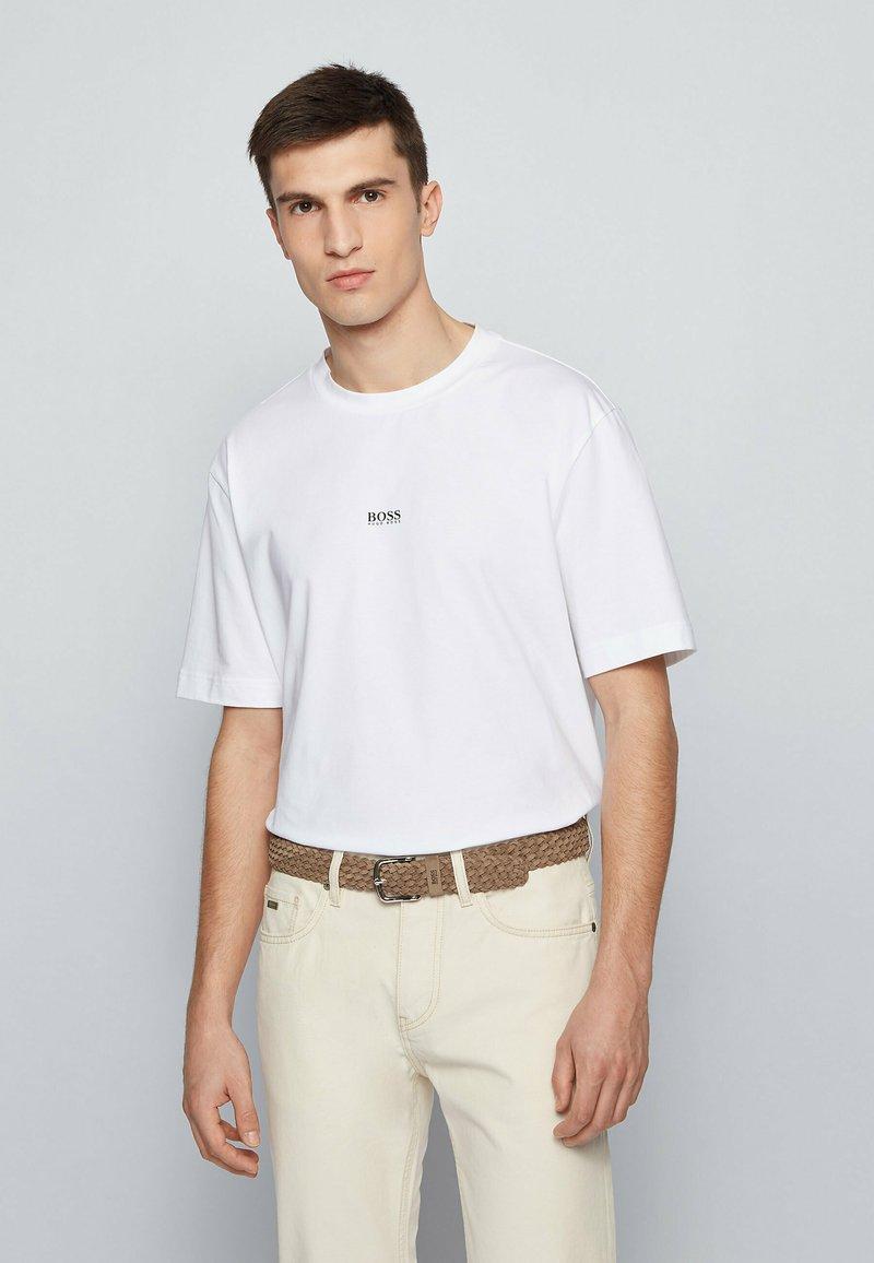 BOSS - SASH - Belt - beige